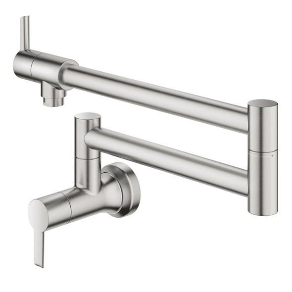 Grohe - LadyLux L2 2-Handle Wall Mount Pot Filler