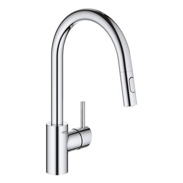 Grohe - Concetto™ Single-Handle Pull Down Kitchen Faucet Dual Spray