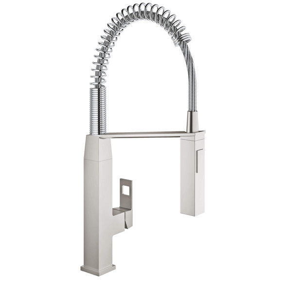 Grohe - Eurocute® Single-Handle Semi-Pro Dual Spray Kitchen Faucet