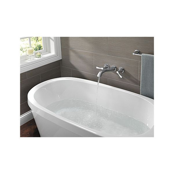 Delta - STRYKE™ Wall Mounted Tub Filler with Cross Handles