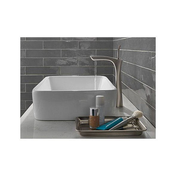 Delta - TESLA® Single Handle Vessel Bathroom Faucet