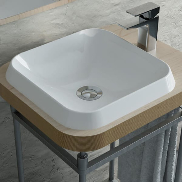 Calma - Rossini Square Vessel Sink