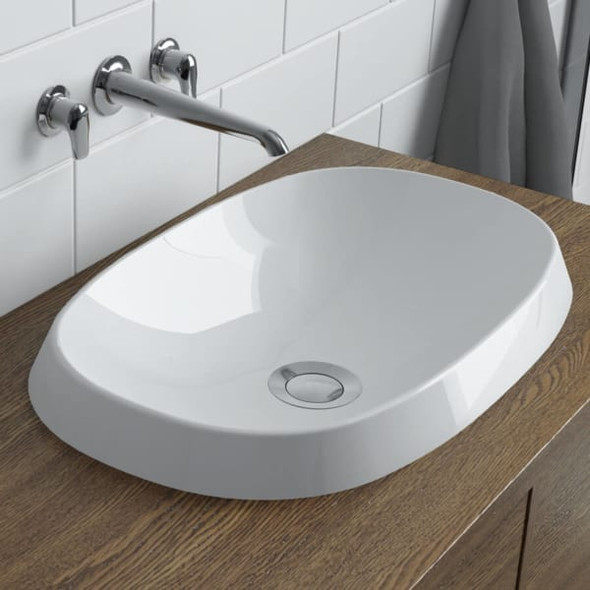Calma - Rossini Oval Vessel Sink