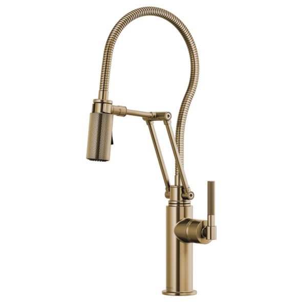 Brizo - LITZE® Articulating Faucet With Finished Hose