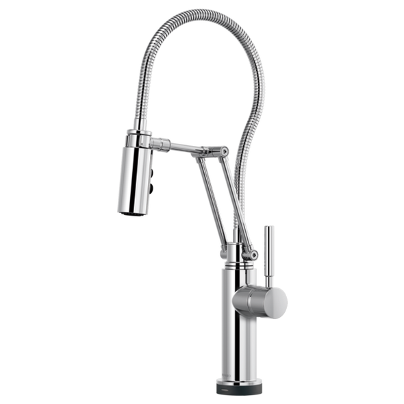Brizo - SOLNA® SmartTouch® Articulating Faucet With Finished Hose