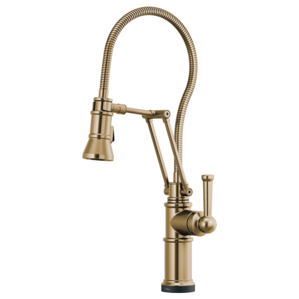 Brizo - ARTESSO® SmartTouch® Articulating Faucet With Finished Hose