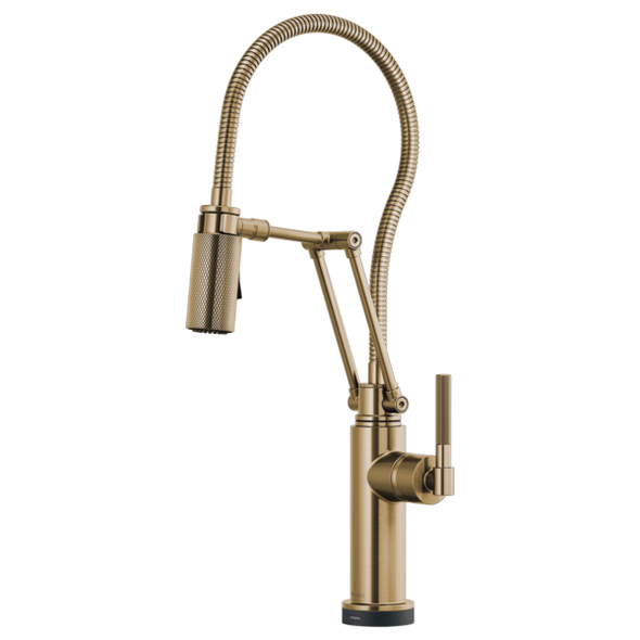 Brizo - LITZE® SmartTouch® Articulating Faucet With Finished Hose