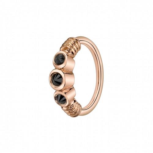 Faraway Ring with Onyx gemstones