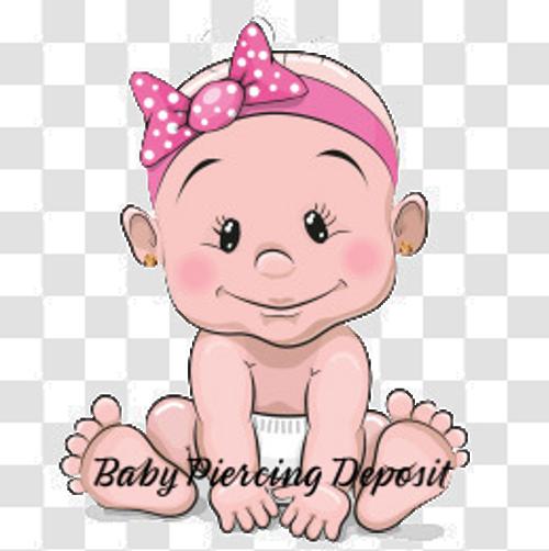 Baby Piercing Deposit