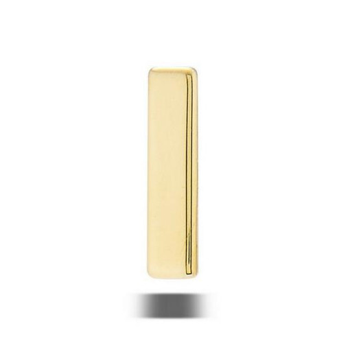 14K R Flat Rectangle 16ga