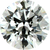 White Cubic Zirconia