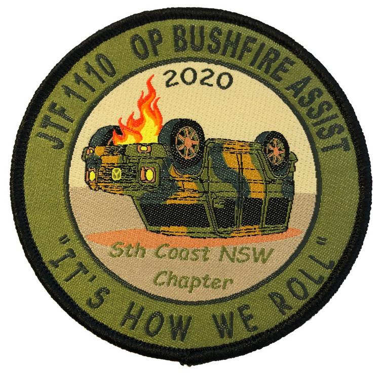 "OP Bushfire Assist Patch ""How we roll"""