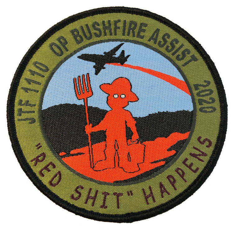 "JTF1110 OP BA ""Red Sh!t Happens"" Patch"