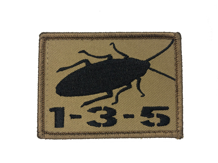 1-3-5 Roach Patch.