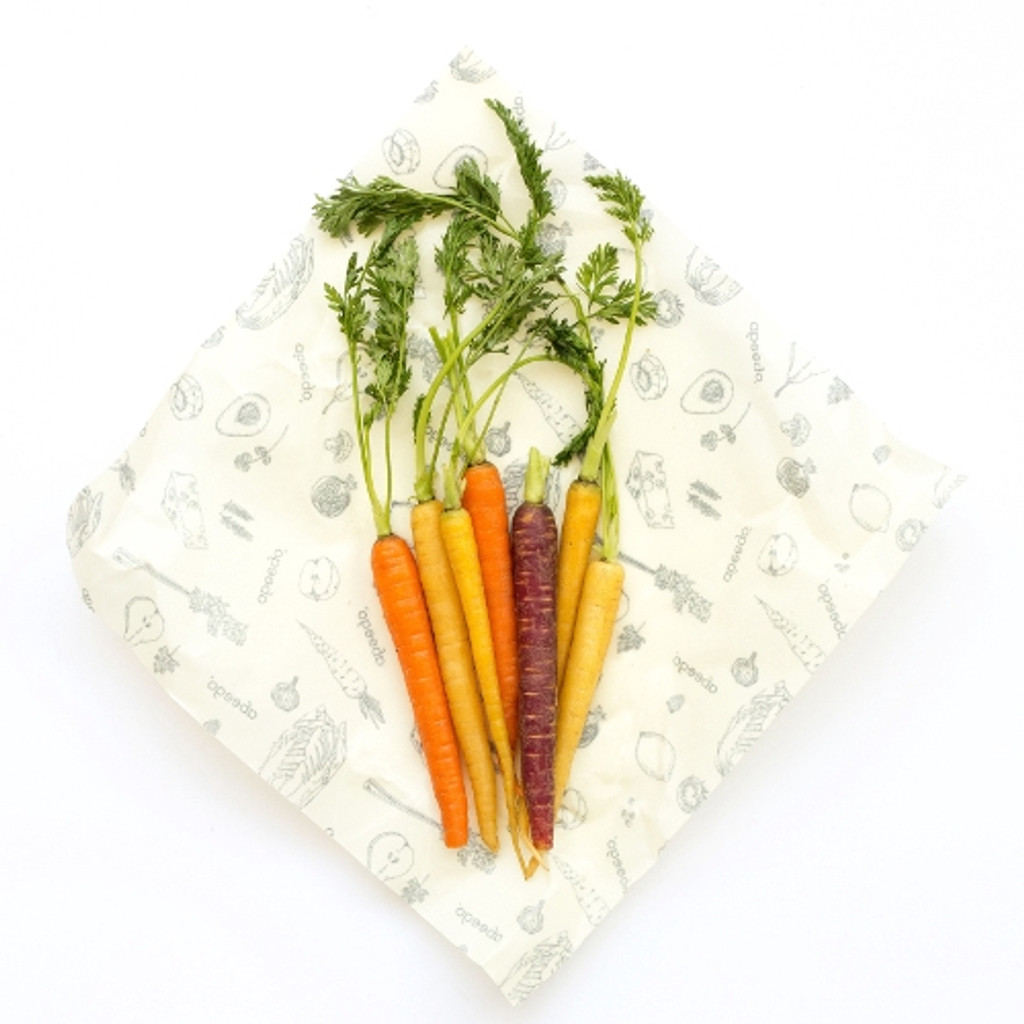 Plastic-Free Food Wrap by Abeego - 2 Large Flats