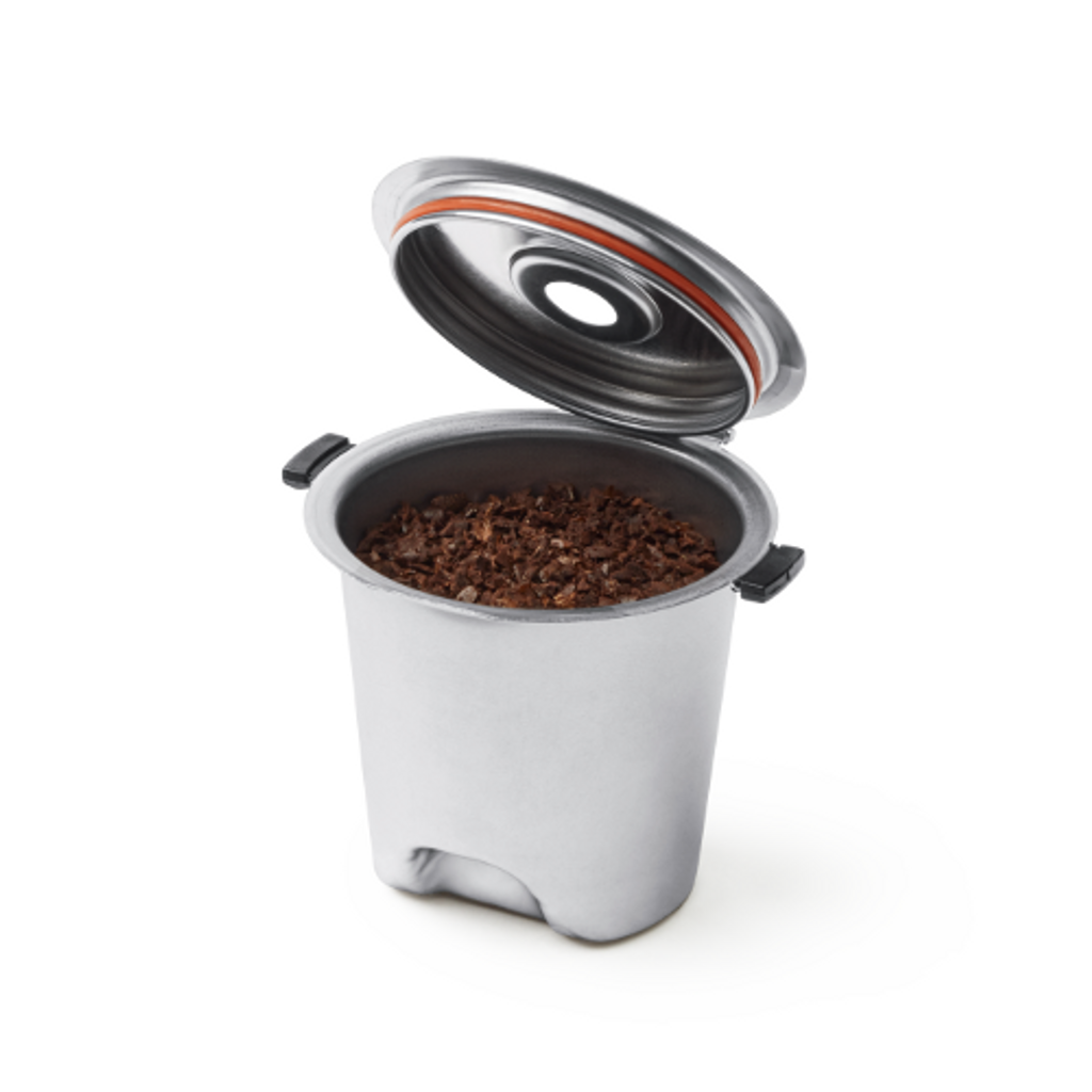 Plastic Free Stainless Steel Reusable Coffee Pod