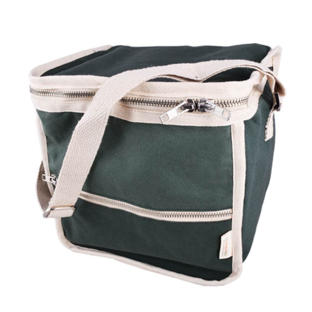 c4b242a63 Life Without Plastic Clean Lunch Bag - Square - Green - Plastic-free ...