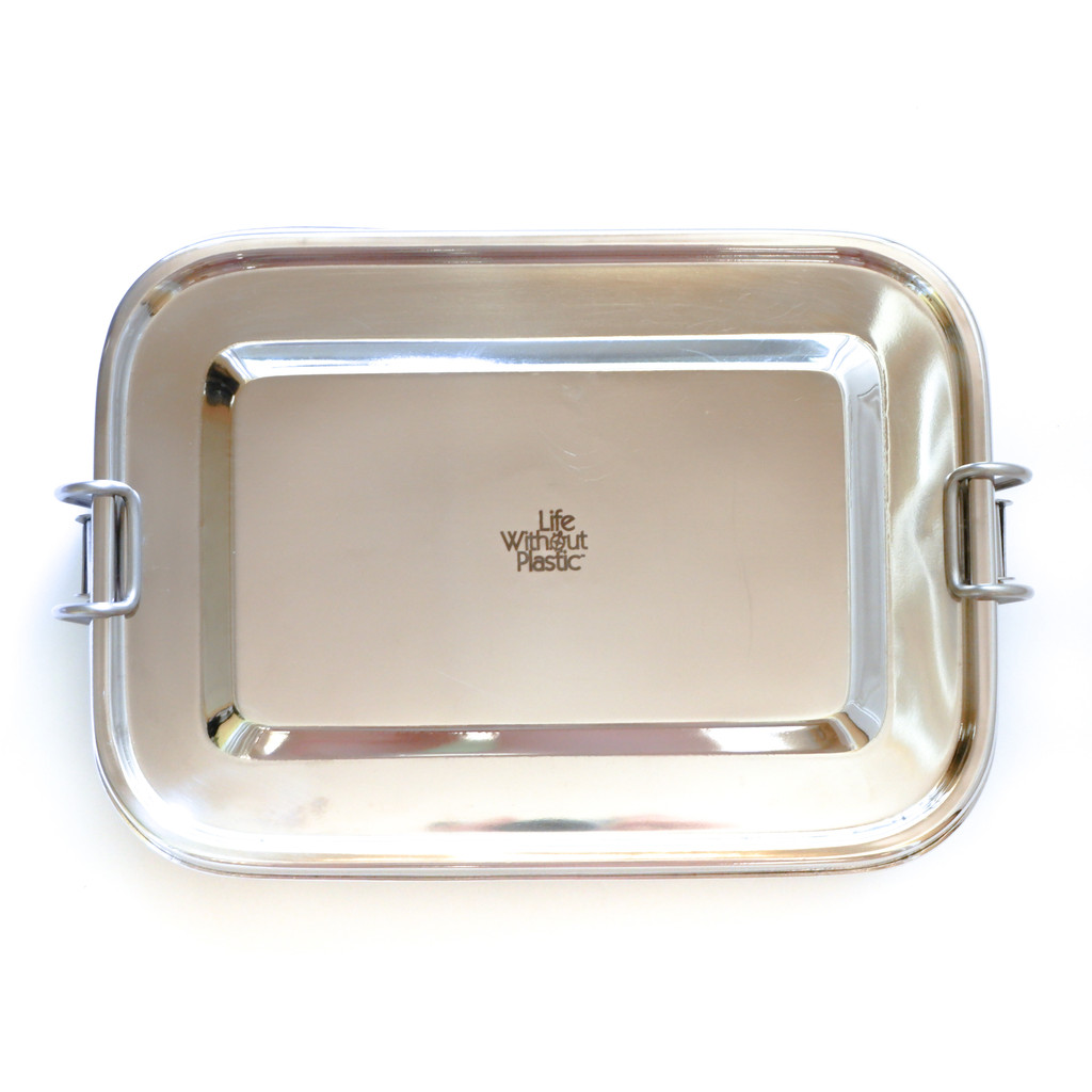 Life Without Plastic Airtight Stainless Steel Rectangular Sandwich Box