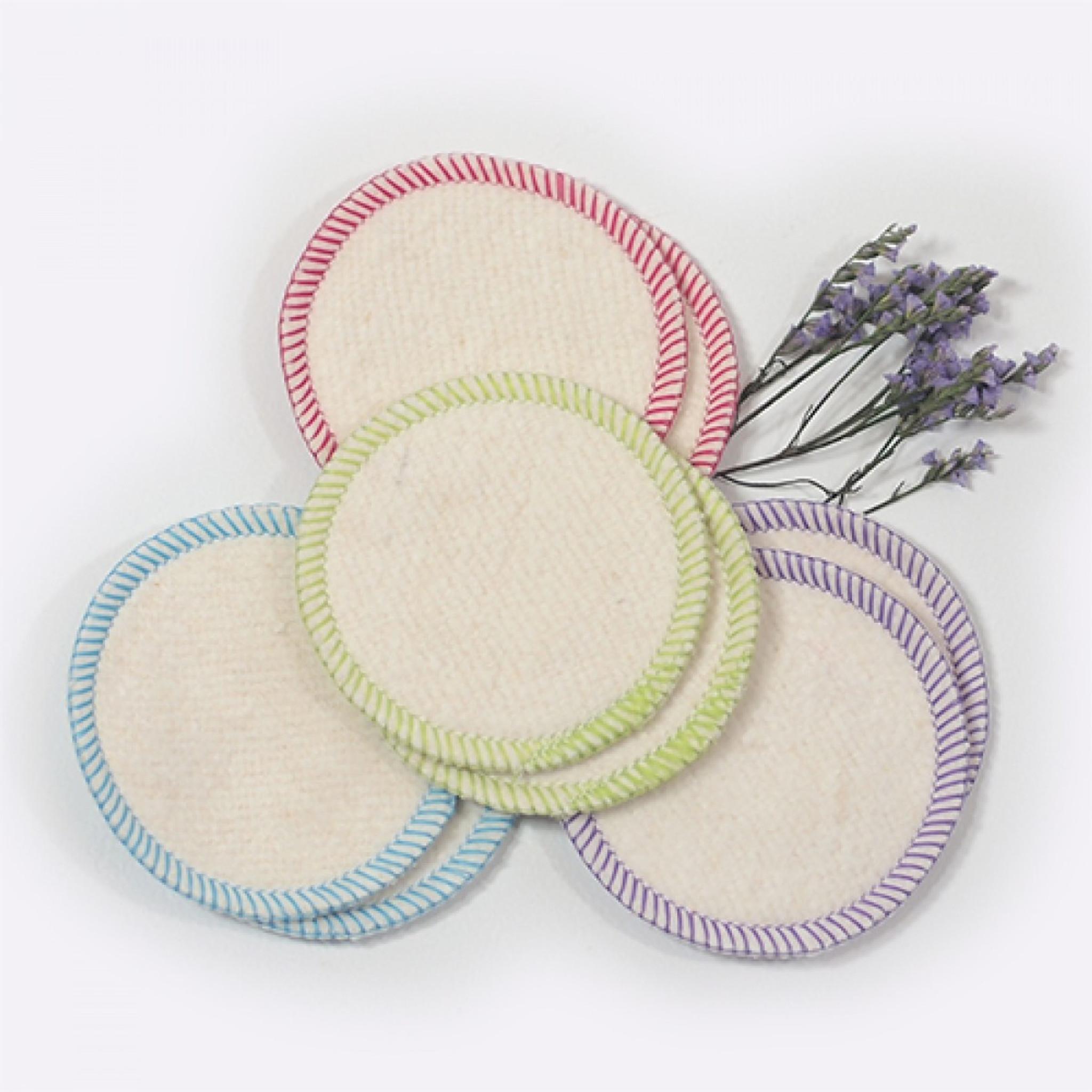 Makeup Removal Pads - Hemp & Organic Cotton
