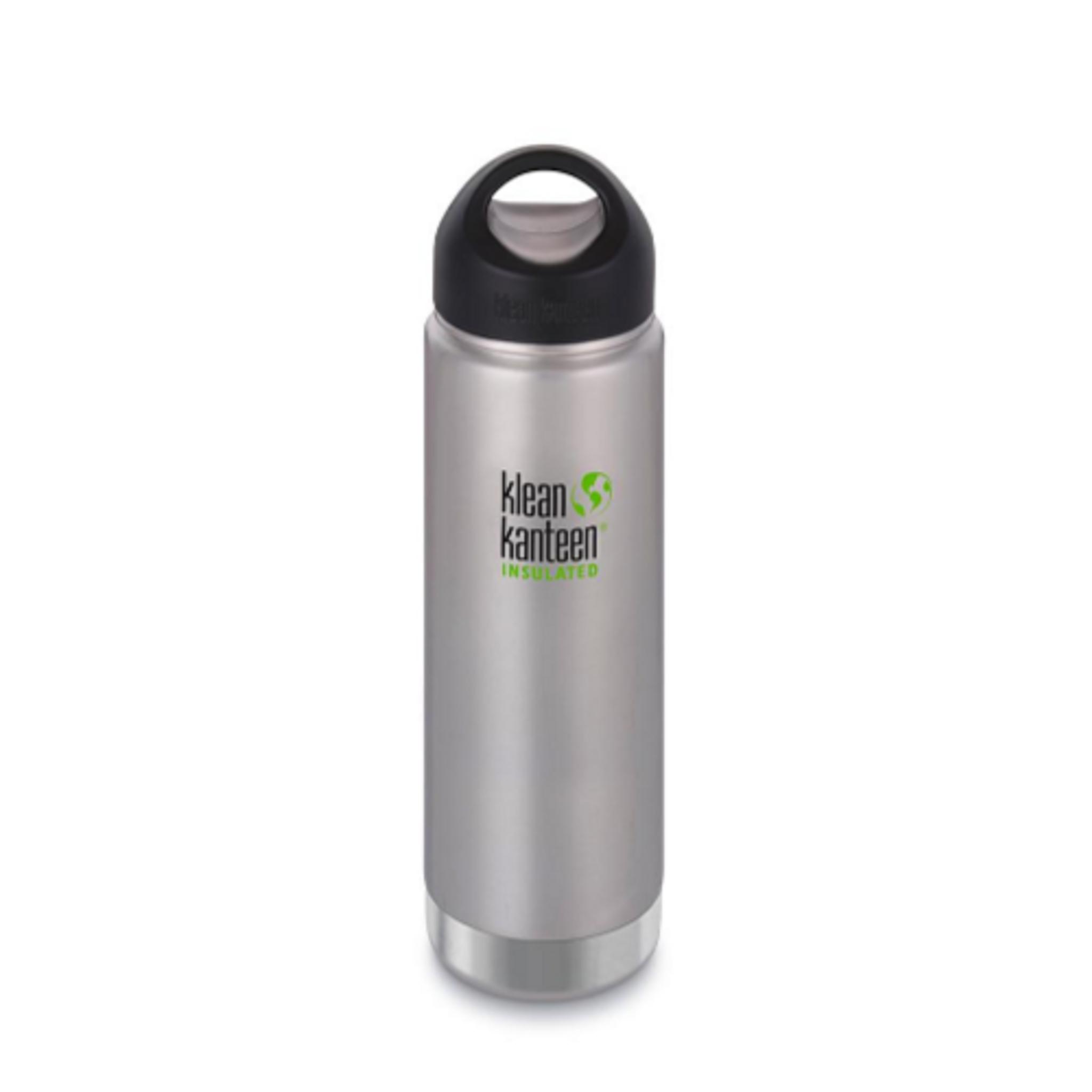 Klean Kanteen Wide Insulated Stainless Steel Bottle W Loop Cap 20 Ounce