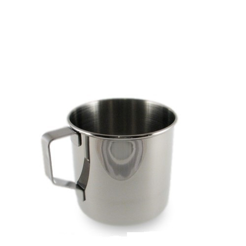 SALE - Stainless Steel Mug  250 ml / 8 oz.