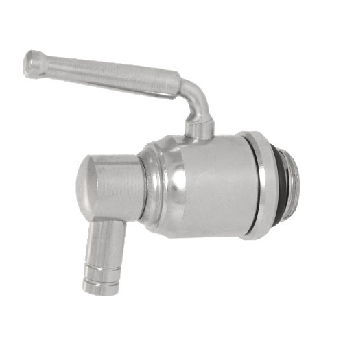 Stainless Steel Spigot with Lever for Life Without Plastic Dispensers