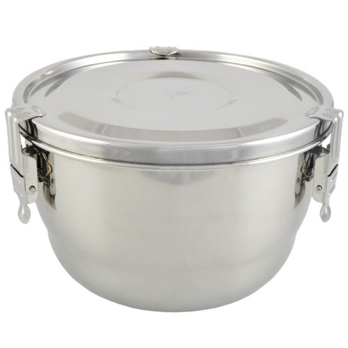 """Stainless Steel Airtight Watertight Food Storage Container - 18 cm / 7"""""""