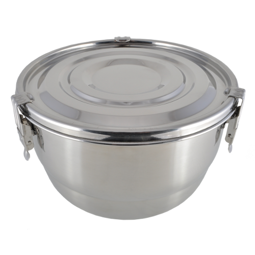 Stainless Steel Airtight Watertight Food Storage Container - 20 cm / 7 7/8""