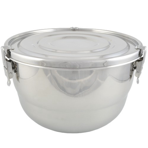 Stainless Steel Airtight Watertight Food Storage Container - 23 cm / 9""