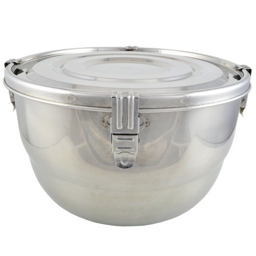 Stainless Steel Airtight Watertight Food Storage Container - 26cm / 10 1/4""