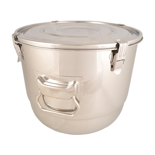 Stainless Steel Airtight Watertight Food Storage Container - 30 cm / 11 3/4""