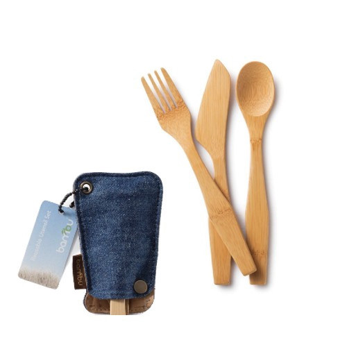 Bamboo Travel Utensil Set