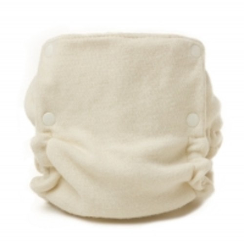 SALE - Natural Wool Plastic-Free Diaper Cover - Small