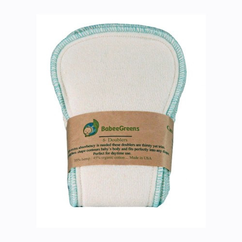SALE - Hemp Doublers for Diapers - Pack of 6