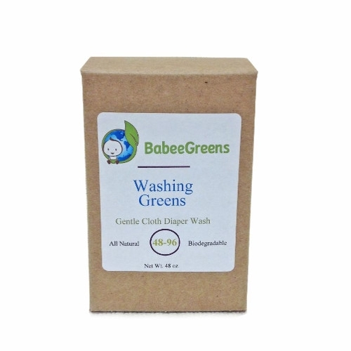 SALE - Washing Greens Detergent for Hemp and Organic Cotton Diapers
