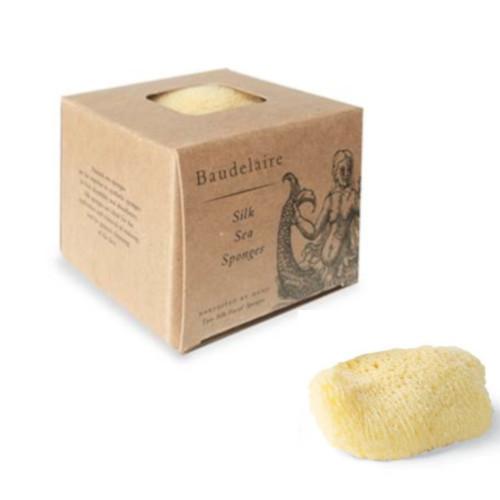 Natural Silk Sea Sponge - 2 Pack
