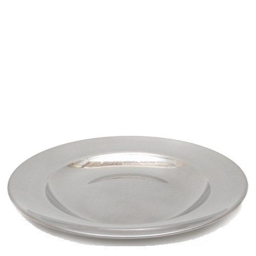 """Small Stainless Steel Plate - 20 cm / 8"""""""