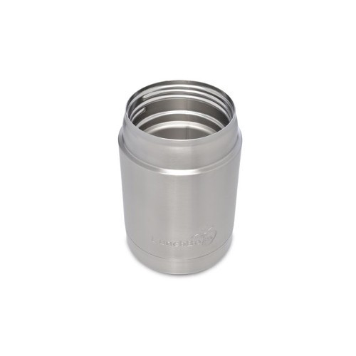 Stainless Steel Thermal Container -  Black  Lid - 350 ml / 12 oz