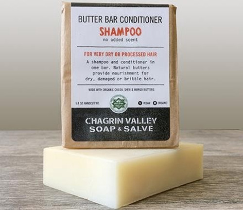 Natural Vegan Plastic-Free Conditioning Shampoo - Butter Bar