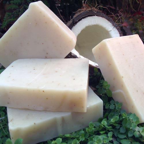coconut shea soap