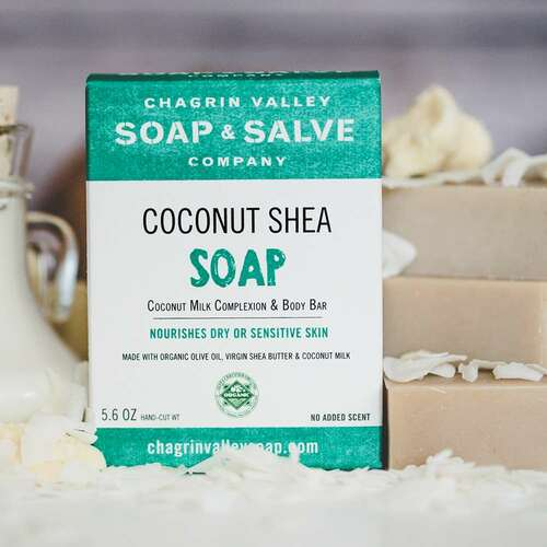 coconut shea soap box