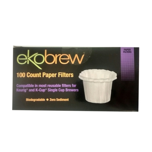 SALE - Biodegradable Paper Filters for Plastic-Free Reusable Coffee Pod