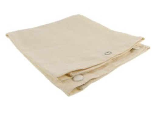 Hemp and organic cotton snack foldable napkin