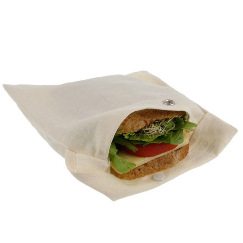 Hemp and Organic Cotton Sandwich Bag
