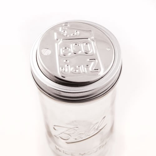 Ecojarz Stainless Steel Drink Top - Wide Mouth