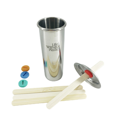 Stainless steel freezycup