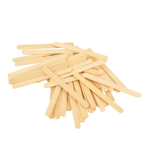 Set of 50 Reusable Bamboo Sticks for the Freezycup Ice Pop Mold