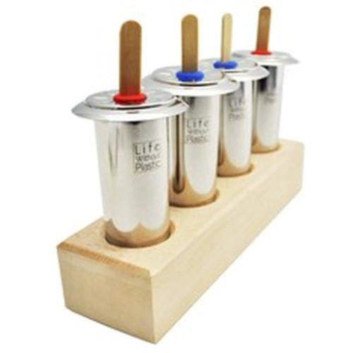 Wooden Ice pop holder