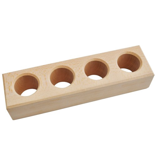 Wooden Ice pop holder 2