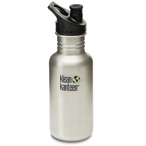532 ml / 18 oz Klean Kanteen Bottle w/ Polypropylene Sports Cap 3.0